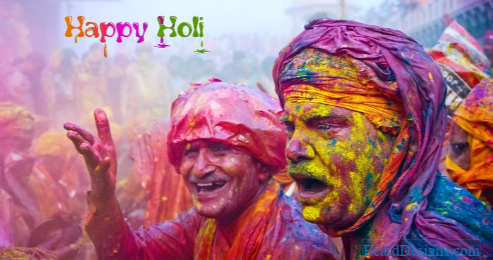 Holi is a special time of year to remember those who are close to our hearts with splashing colors!
