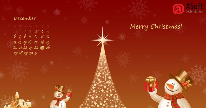 ASoft Technologies Wish You A Merry-Christmas  & Prosperous New-Year