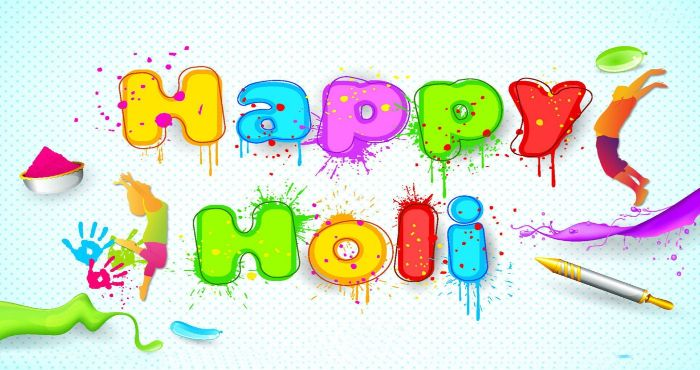 Happy Holi Greeting to all my friends and family