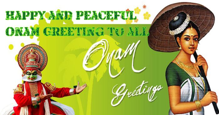 Happy and Peaceful Onam Greeting to all