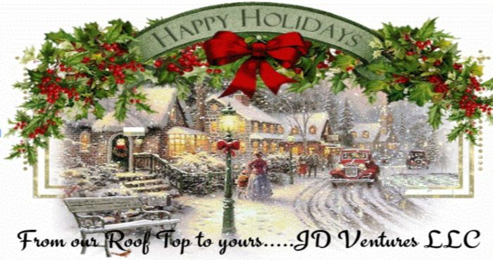 Holiday Greetings From JD Ventures