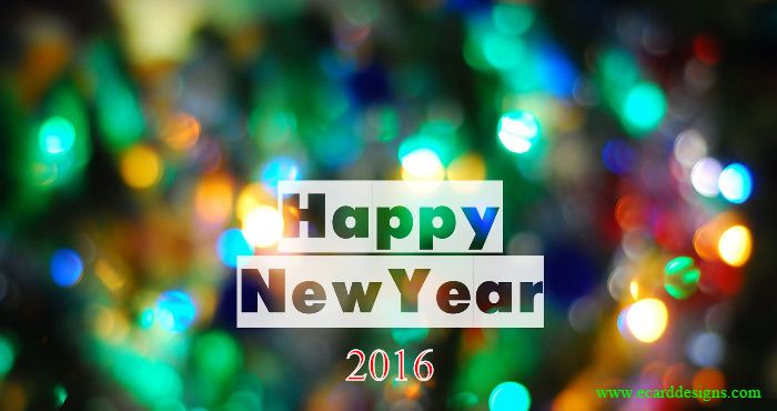 Hope Smiles from the threshold of the year to come, Whispering 'it will be happier'…Happy New Year