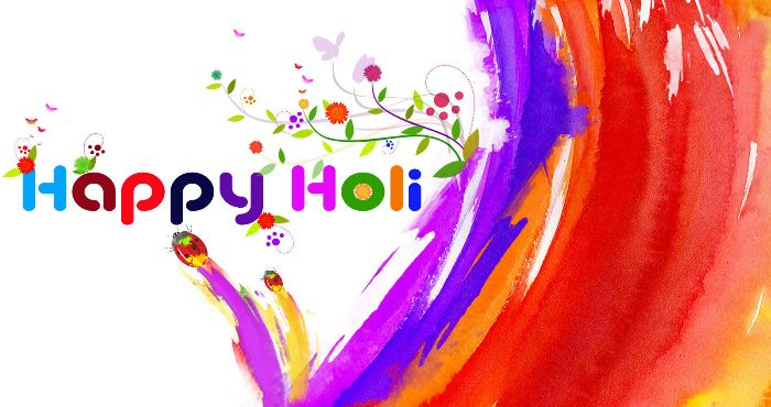 Wishing you and your family a very bright,colourful and joyful holi.
